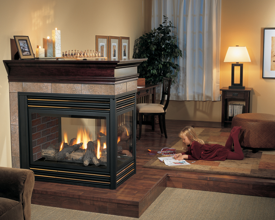3 Sided Fireplaces in Calgary Hearth & Home